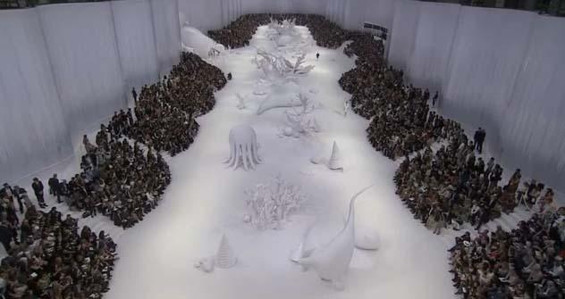 Schnee als Kunst